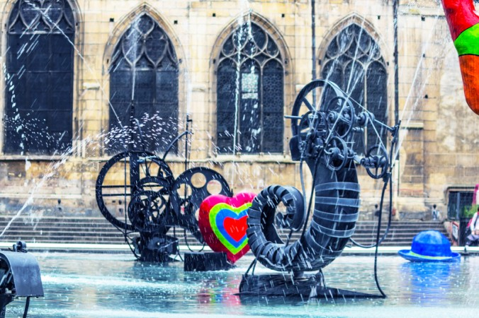 Im Le Centre Pompidou ist der zweite Teil der französischen Nationalbibliothek beherbergt. Außerdem eine Ausstellung zeitgenössischer Kunst. (#4)