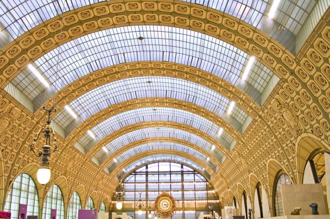 Einzigartige Baukunst: das Musée d'Orsay im ehemaligen Bahnhof, dem Gare d'Orsay ist ein Muss auf der Kunsttour durch Paris. (#3)