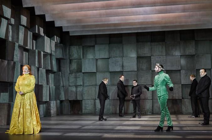 Ein gelungener Abend, dank tollem Theaterstück: Maria Stuart in den Münchner Kammerspielen. (#2)