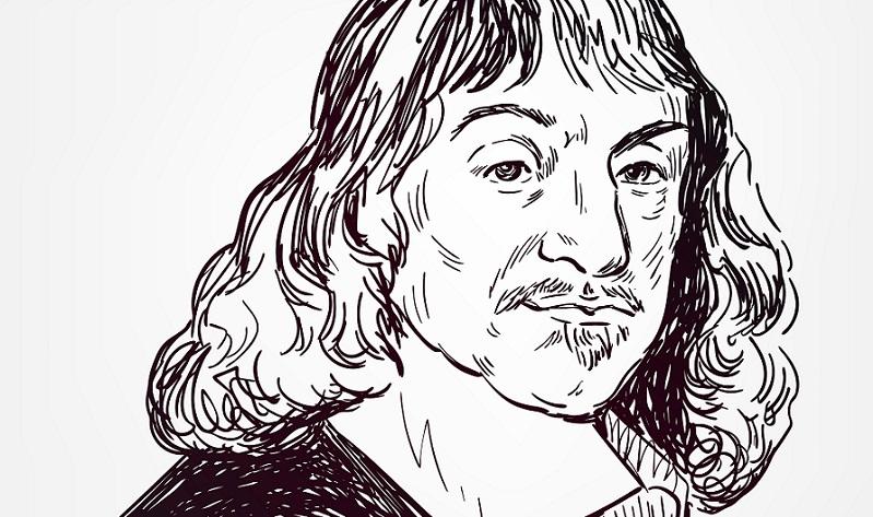 Die Zustände des Körpers und der Seele werden durch das Gehirn gesteuert. Diese Idee hat René Descartes.